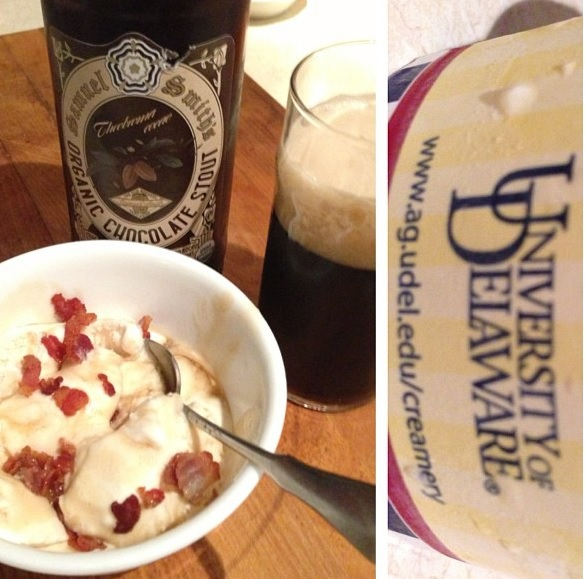 Beer and Bacon Toffee Sunday