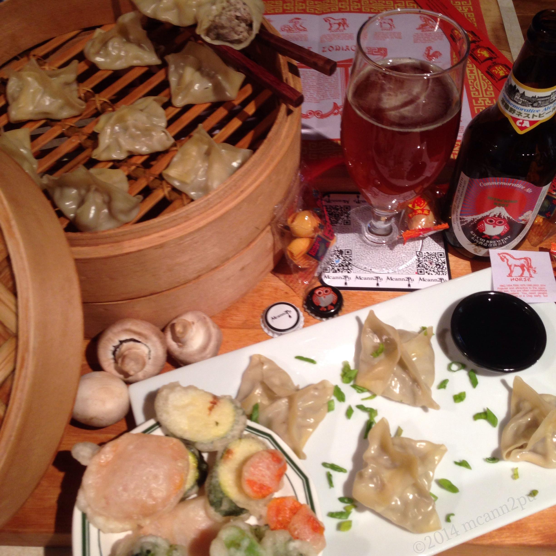Dim Sum Pork and Mushroom Shumai Dumplings