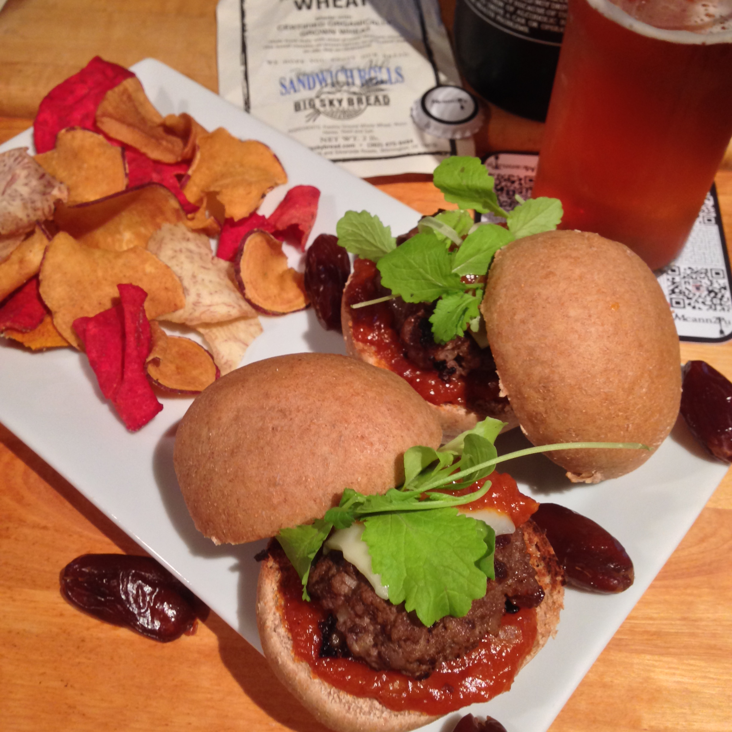 Spiced Lamb Sliders with Date Ketchup