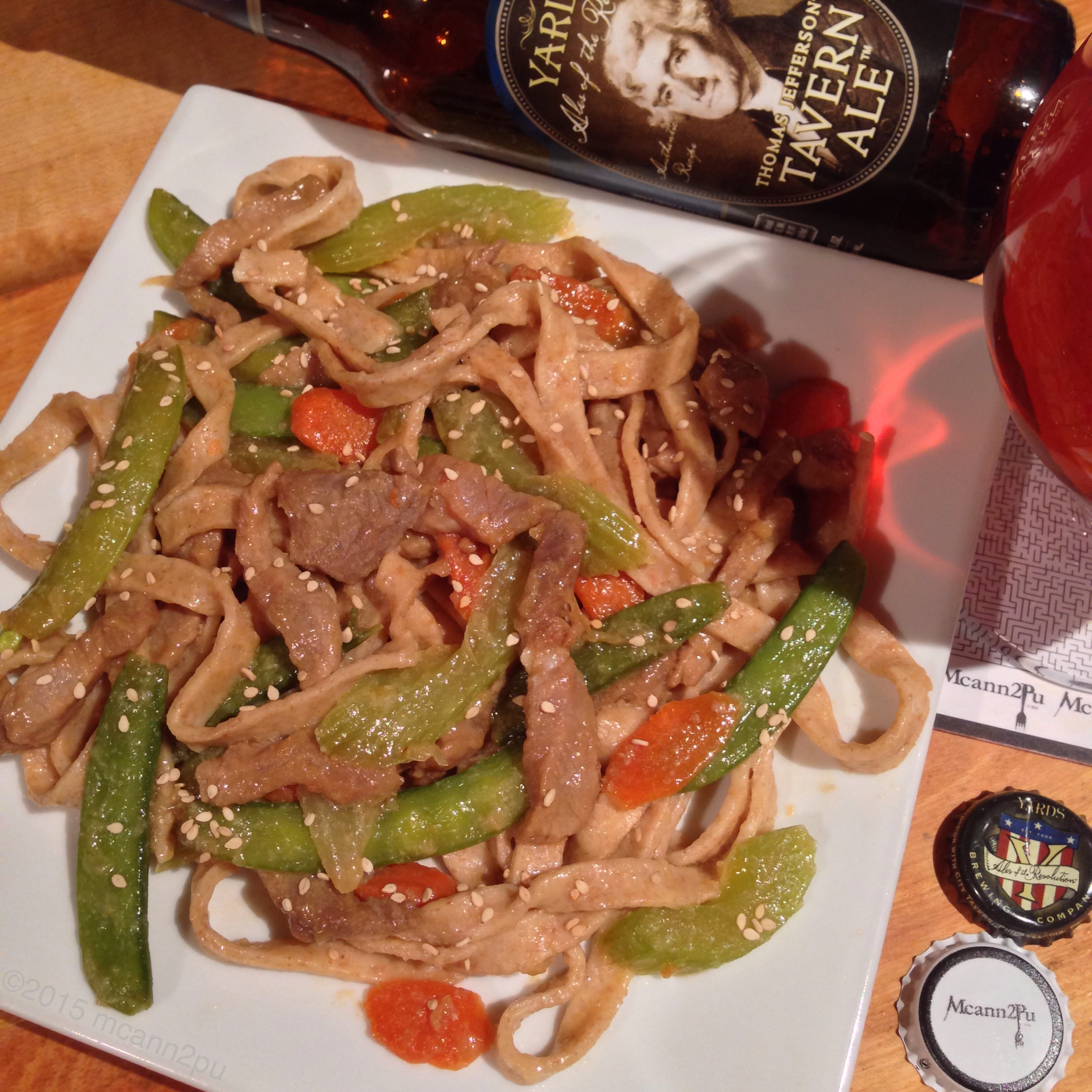 Sweet and Sour Pork Lo Mein