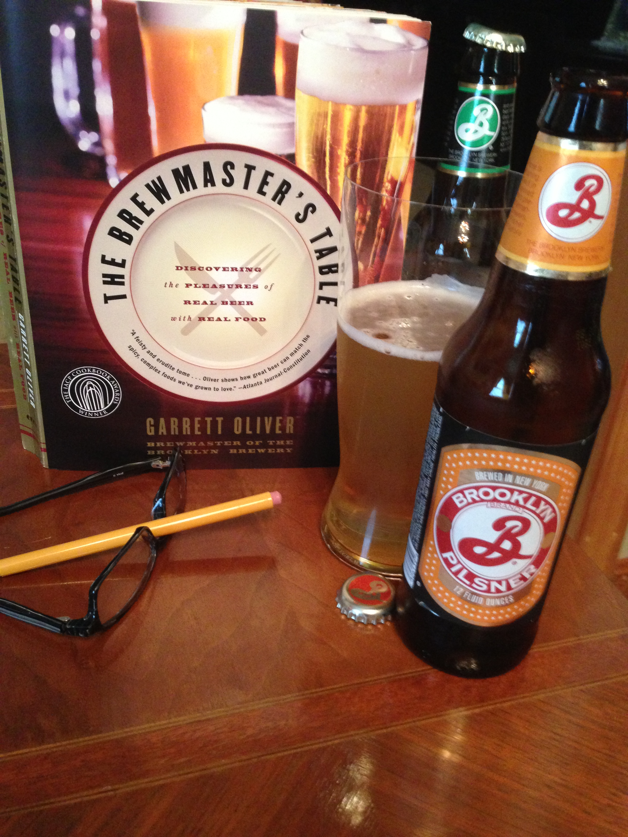 Brewmaster's Table Study Session with Beer