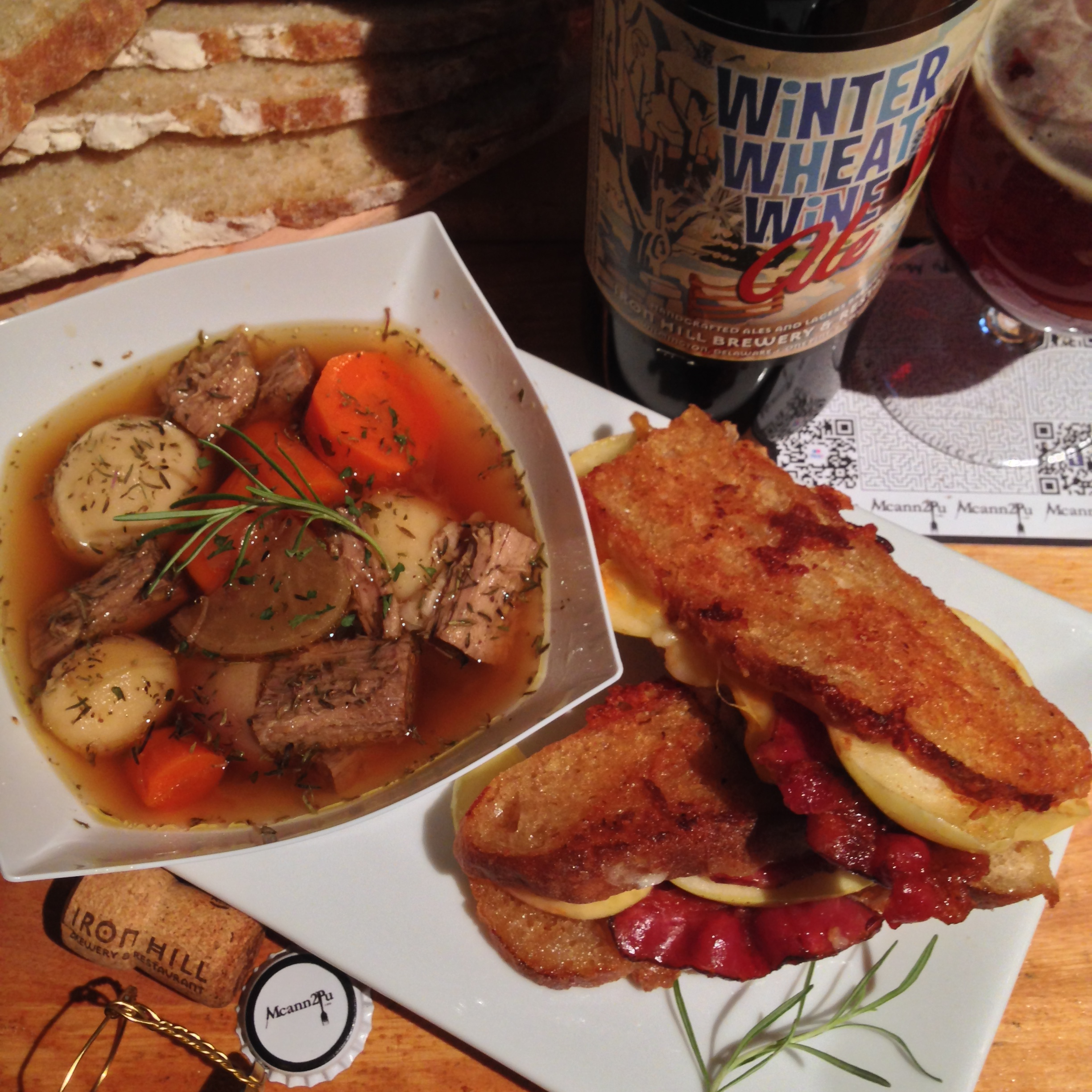 Pot au Feu with Grilled Cheese
