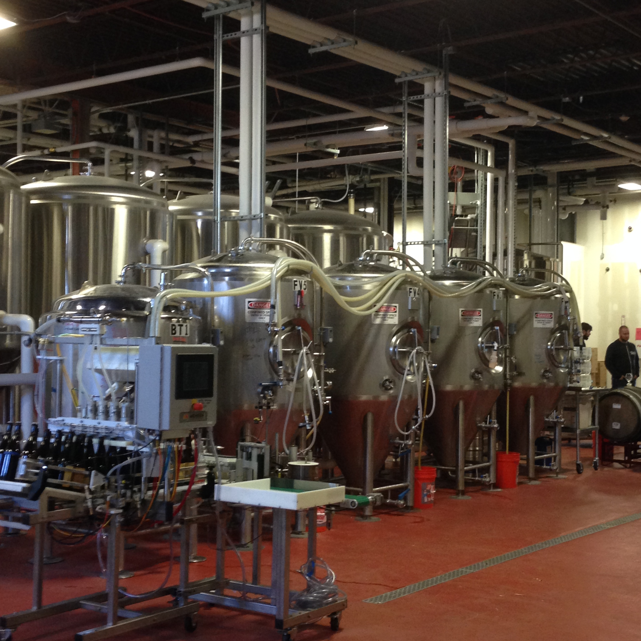 Stainless at Night Shift Brewing