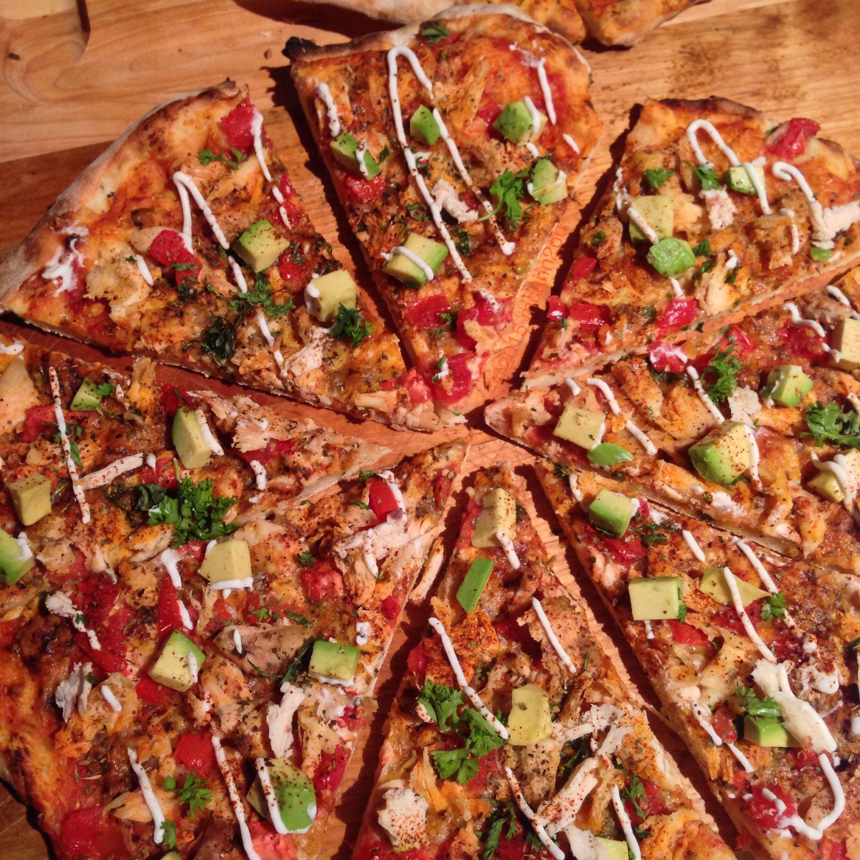 Chicken Taco Pizza for Cinco de Mayo
